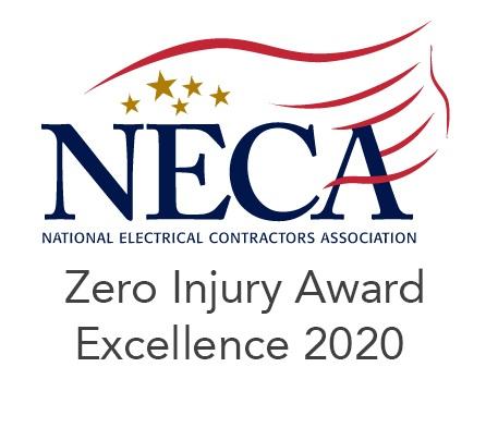 Zero Injury Award Recipient 2020